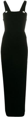 Balmain Knitted Bodycon Maxi Dress