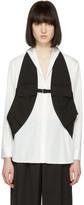Yohji Yamamoto Black Linen Vest