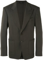 Tom Ford two-button blazer - men - Silk/Spandex/Elastane/Cupro/Viscose - 48