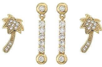 Vanessa Mooney The Breezy Earrings Set (Gold) Earring