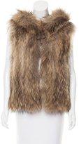 Zadig & Voltaire Hooded Fur Vest