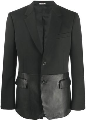 Alexander McQueen Cavalry tailored blazer