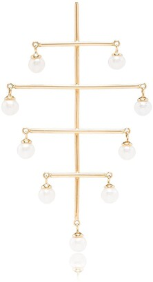 PERSÉE 18kt Yellow Gold Pearl Earrings