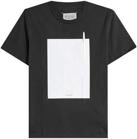Maison Margiela Ink Cotton T-Shirt