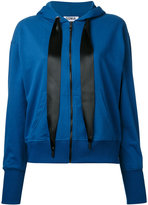 Sonia By Sonia Rykiel - ribbon-tie hoodie - women - Cotton/Polyester - S