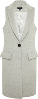 Oxford Rachel Sleeveless Coat Gry X