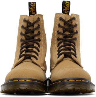 Dr. Martens Tan Nubuck 1460 Pascal Boots
