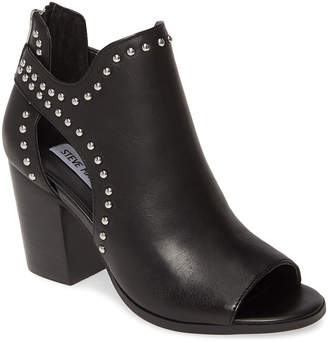 Steve Madden Women's Casual boots BLK - Black Stud Moxie Leather Boot - Women