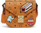 MCM Patricia Shoulder Bag In Victory Patch Visetos