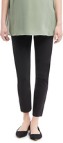 Motherhood Under Belly Tech Twill Slim Leg Maternity Pants