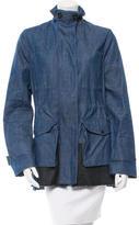 Proenza Schouler Colorblock Denim Jacket