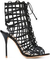 Sophia Webster 'Delphine' sandals - women - Leather - 35