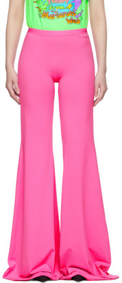 Vetements Pink Evening Bootcut Trousers