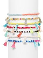 BaubleBar Cali Beaded Stretch Bracelets, Set of 7
