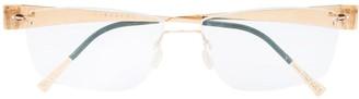Lindberg Rimless Rectangle-Frame Eyeglasses