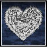 Oliver Gal Feather Heart (Shadowbox)