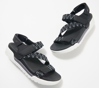Ryka Elastic Gore Sport Sandals - Rowana