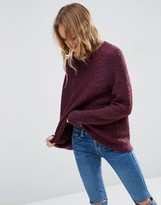 Asos Sweater In Boucle