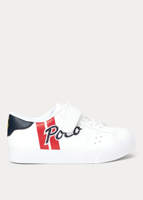 Ralph Lauren Theron Faux-Leather Sneaker