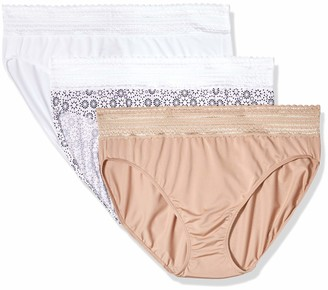 Warner's Warners Women's No Pinching No Problems Tailored Brief 3 Pack Panties