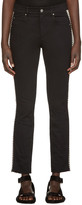 Etoile Isabel Marant Black Two-Tone Haven Jeans