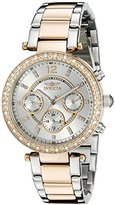 Invicta Women's 20471SYB Angel Analog Display Swiss Quartz Two Tone Watch