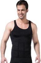 Niyatree Men's Body Shaper Slimming Elastic Shirt Body Shapewear Size M