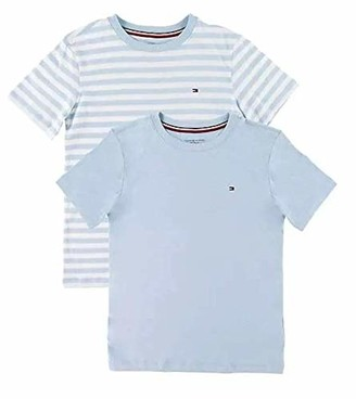 Tommy Hilfiger Boy's 2P CN TEE SS Stripe Pyjama Top