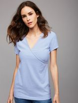 A Pea in the Pod Pull Down Relaxed Fit Nursing Top