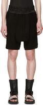 Julius Black Jacquard Shorts