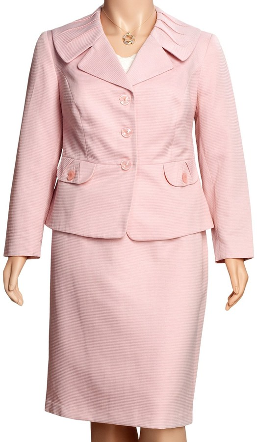 Isabella Collection Matelasse Suit - Plus Size (For Women)