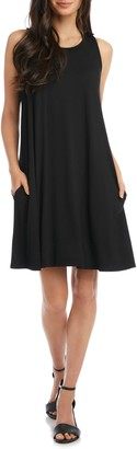 Karen Kane Chloe Sleeveless Stretch Jersey Swing Dress