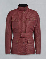 Belstaff Trialmaster Pro W Motorcycle Jacket Red UK 8 /