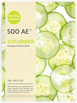 SOO AE Cucumber Collagen Essence Mask