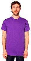 American Apparel Men's Unisex Fine Jersey Short-Sleeve T-Shirt