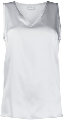 Brunello Cucinelli sleeveless V-neck tank top