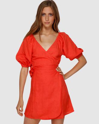 Billabong Del Ray Wrap Dress