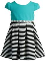 Youngland Girls 4-6x Stripe Pleated Dress