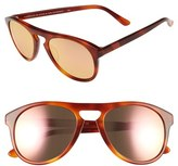 Westward Leaning Women's 'Galileo' 53Mm Sunglasses - Amber Shiny/ Rose Gold