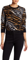 Equipment Shirley Animal Print Sweater