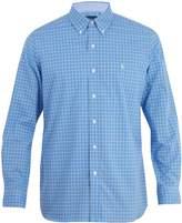 Polo Ralph Lauren Logo-embroidered checked cotton shirt