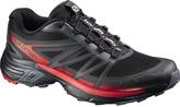 Salomon Black & Dark Cloud Wings Pro 2 Trail Running Shoe - Men