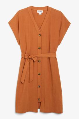 Monki Flowy sleeveless dress