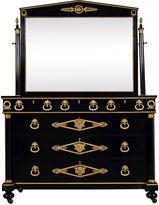 One Kings Lane Vintage French Empire-Style Ebonized Vanity