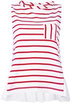 Semi-Couture Semicouture - striped sleeveless top - women - Cotton - M
