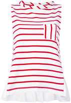 Semi-Couture Semicouture striped sleeveless top