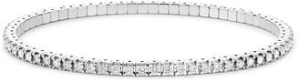 Pragnell 18kt White Gold Diamond Expandable Bracelet