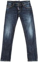 DSQUARED2 Stone Washed Stretch Denim Jeans