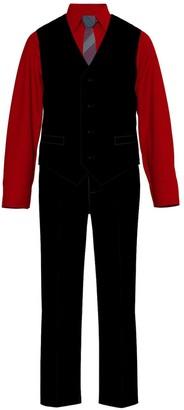 Van Heusen Toddler Boy 4-Piece Twill Vest Set