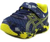 Asics Turbo Ts Infant Round Toe Synthetic Blue Sneakers.